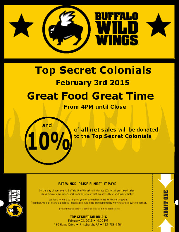 Buffalo Wild Wings Flyer_2015