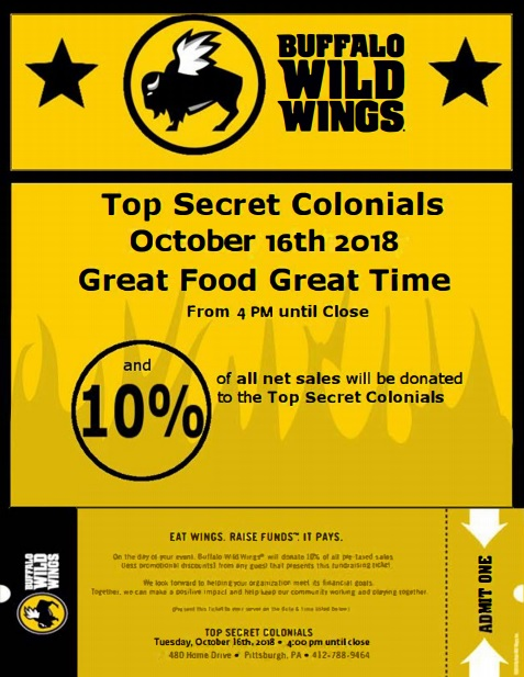tsc buffalo wild wings oct2018